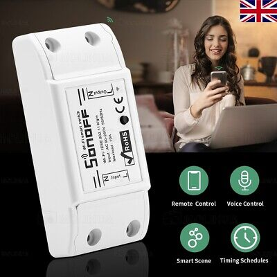 5x Sonoff Smart Home Wifi Wireless Timer Switch Module Control for Android App