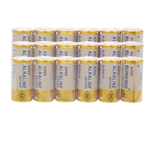 100+8pcs 6v 4lr44 28a A544 Cnb-544 Alkaline Battery Whole...