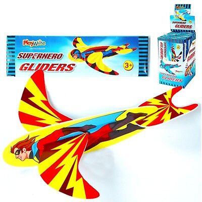 Wholesale Job Lot 144 Super Hero Gliders *Boys *Girls *Kids *Toys