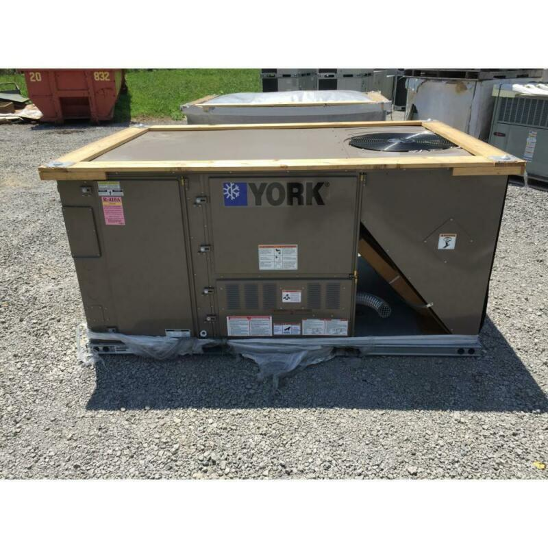 YORK ZJ049N09H4AAA7 4 TON 2 STAGE CONVERTIBLE GAS/ELECTRIC PACKAGED UNIT, 3 PH