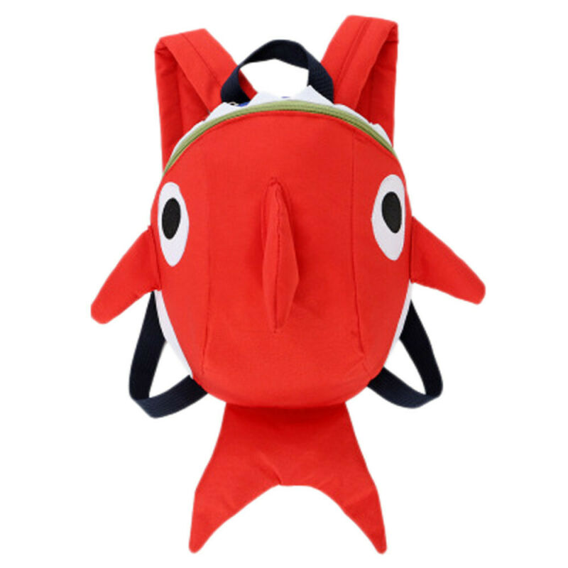 Kids Baby Shark Backpack Cartoon Animal Bag Children Girls Boys Soft School Bag
