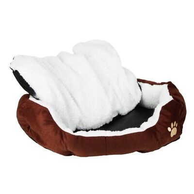small Pet Dog Cat Bed Cotton Warm Kennel Dog Mat Blanket Soft Comfortable