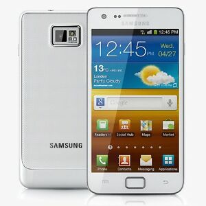 Samsung Galaxy S2 II GT-I9100-16 GB-Ceramic White (Unlocked) Smartphone