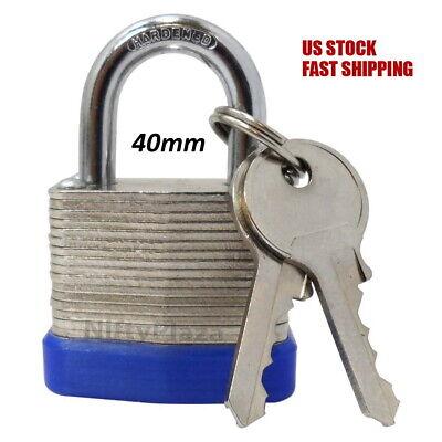 Padlocks 40mm 50 mm 63mm 70mm Disc Rhombic Shutter Padlock Lockers Sheds Garages