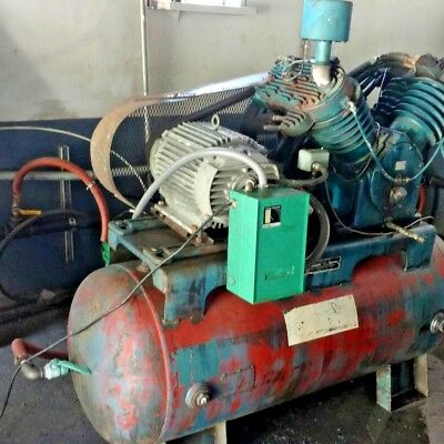 Used 20 Hp Kellogg Piston Air Compressor