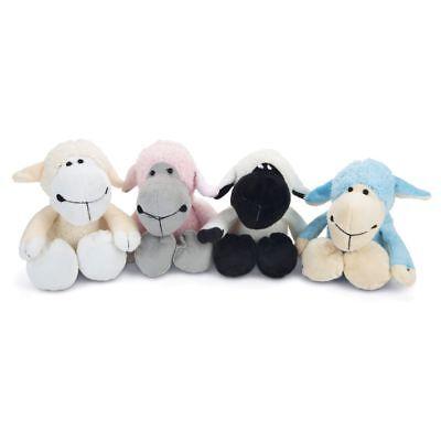Karlie Plüsch-Hundespielzeug Schäfchen Schaf Spielzeug mit Squeaker Kuscheltier Hund Plüsch Spielzeug