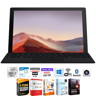 """Microsoft Surface Pro 7 12.3"""" Intel i5-1035G4 8GB/256GB + Extended Warranty Pack"""
