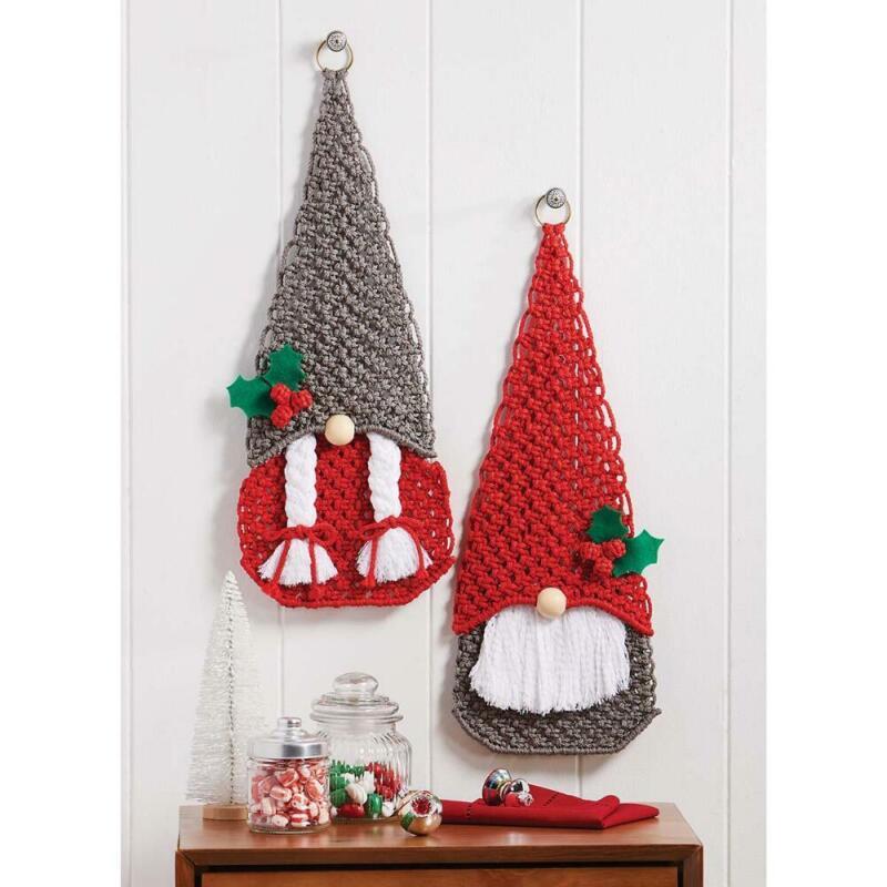 Herrschners® Christmas Gnomes Macrame