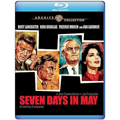 Seven Days in May 1964 BLU RAY Burt Lancaster, Kirk Douglas, Fredric (Seven Days In May 1964 Blu Ray)