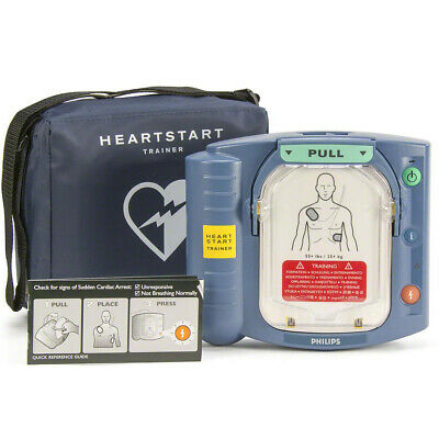 Philips Heartstart Onsite Home Aed Trainer M5066a M5085a Trainer With Pads