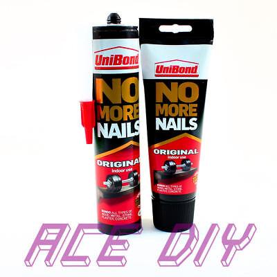 No More Nails Adhesive | Unibond OriginaI Interior Glue Bond Wood Metal Stone