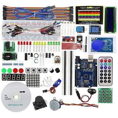 Electronic Starter Kit Arduino R3 Rfid Learn Basic Component Board Module Sensor