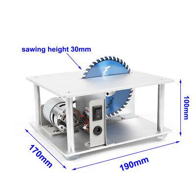Mini Precision Table Bench Saw Blade Diy Woodworking Cutting Machine 5000 Rpm