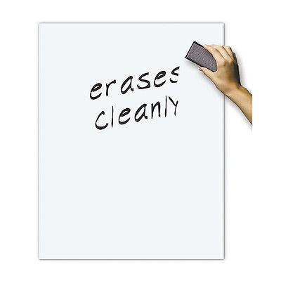 White Board Dry Erase Poster Board 22X28](Dry Erase Poster Board)