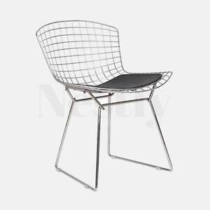 CLEARANCE: 2 x Replica Harry Bertoia Wire Side Industrial Chair Wetherill Park Fairfield Area Preview