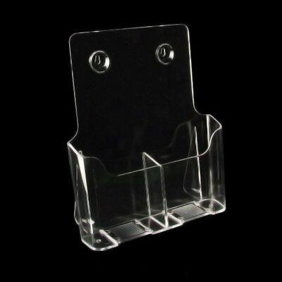 5 x Prospektständer Aufsteller für Flyer 2 x DIN lang Hochformat  NEU (160003B)
