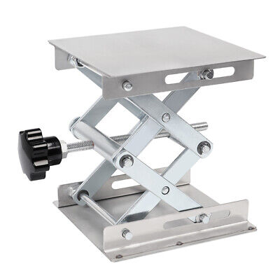 4 6 8 Stainless Steel Lab Stand Table Scissor Lift Laboratory Jiffy Jack