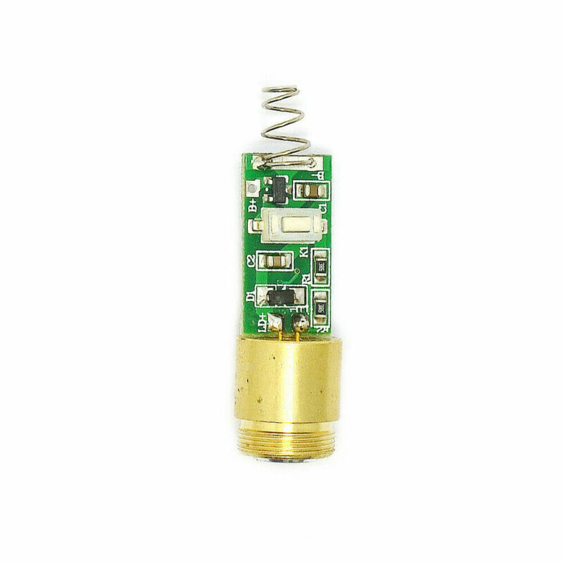 Mini size 12*19mm 50mW 405nm Focusable Violet/Blue Laser DOT Module 3V