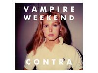 BRAND NEW & SEALED Vampire Weekend Contra CD Album