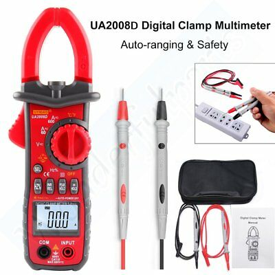 Ua2008d Digital Clamp Multimeter Testing Ac Dc Currentvoltagetemperature