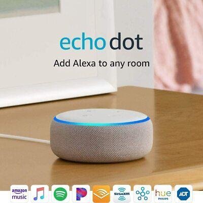 BRAND NEW Amazon Echo Dot 3rd Gen Smart speaker with Alexa - Sandstone FREE SHIP