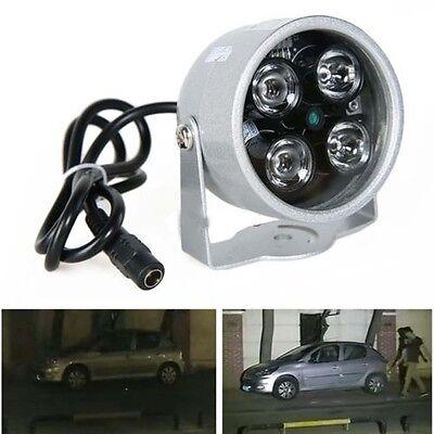 CCTV 4 LED Illuminator Light CCTV Security Camera IR Infrared Night Vision Lamp