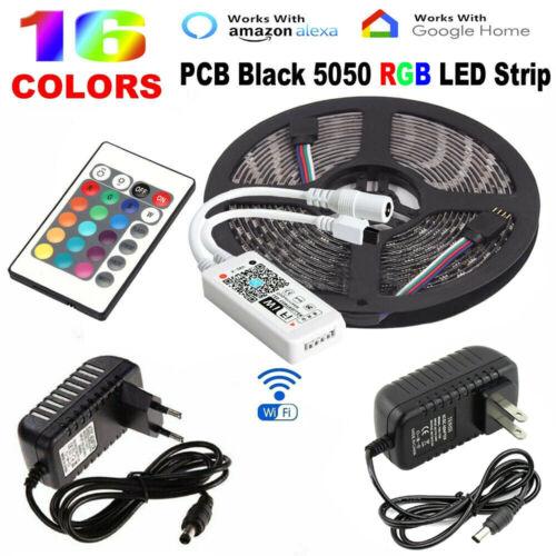 5050 RGB LED Strip Light Tape Under Cabinet Kitchen Lighting