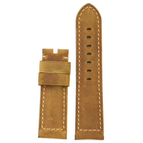 22mm 24mm 26mm Genuine Calf Leather Watch Band Wristwatch St