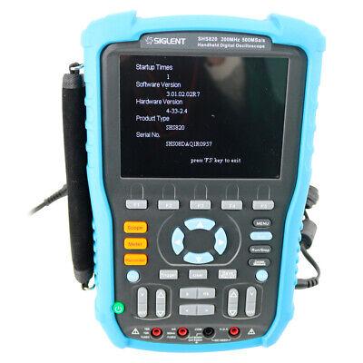 Siglent Shs820 Handheld Digital Oscilloscope 200mhz 1gsas 2 Channels