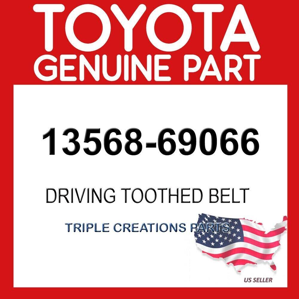 TIMING 13568-69066 1356869066 Genuine Toyota BELT