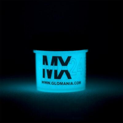 AQUA MX24 Extreme Glow in the Dark Paint Daytime Invisible Range 1oz