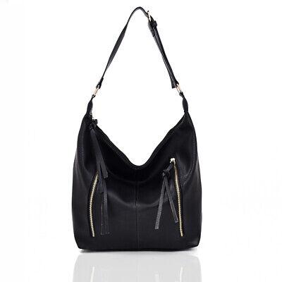 New Womens Designer Style Handbag Girls Slouchy Shoulder Bag Tote Style Bag