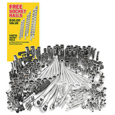 In Retail Box Craftsman 311 pc Mechanics Tool Set Ratcheting Combination Wrench