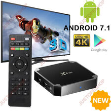 NEW X6 Mini Android 7.1 TV Box Quad Core 4K HDMI 17.4 HD Network Media Player UK