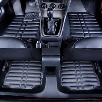 Fly5D Front & 2nd Seat Floor Liners Fits LEXUS RX350 300 330 2004-2008 - Black
