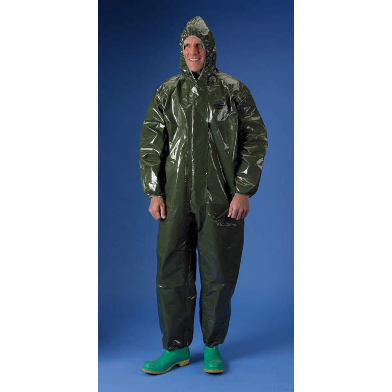 Protective Suit Lakeland 40130 ChemMax 4 Chemical Resistant 1 piece