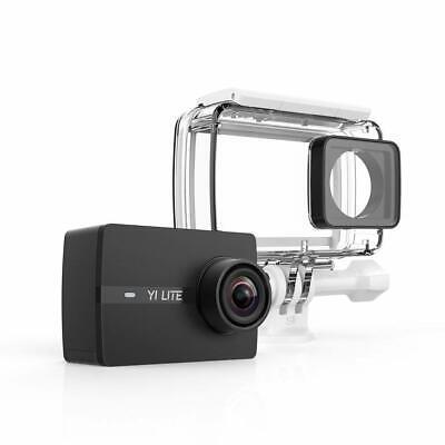 YI Lite Action Camera 4K 16MP Touchscreen Wifi Zubehörpaket Unterwasser-Gehäuse