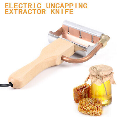 Electric Beekeeping Equipment Scraping Honey Extractor Uncapping Hot Knife Us