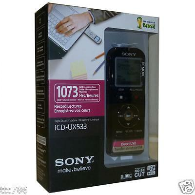 Sony Digital Voice Recorder ICD-UX533 4GB