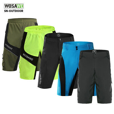 Baggy Mountain Bike Shorts (Mountain Bike Shorts Sommer Baggy Short Straße bergab Rad kurze Hose_DE)
