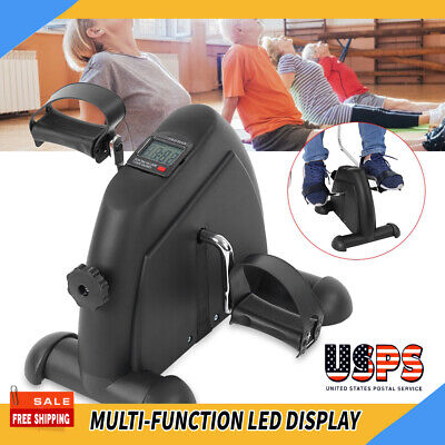 Multifunction Mini Exercise Bike Hand Foot Pedal Trainer Eld