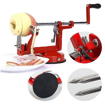Hot Apple Slinky Machine Peeler Corer Potato Fruit Cutter Slicer Kitchen Tool US