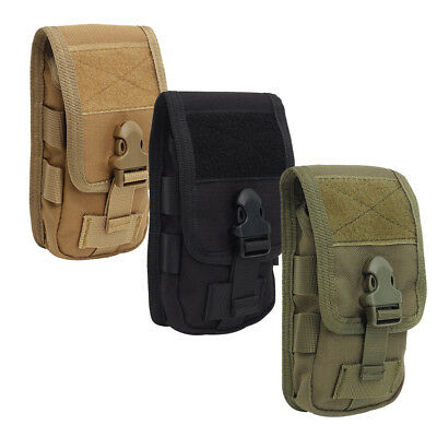 Universal Tactical Army Bag Mobile Phone Belt Loop Hook Cover Case Pouch Holster Case Pouch Holster