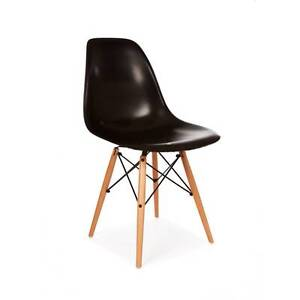 set 4 * Eames DSW dining chair (black, white, gray) Hornsby Hornsby Area Preview