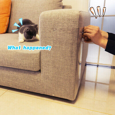 US Cat Scratch proof stick Board Pad Corner Wall Board Sofa Furniture Protect ()