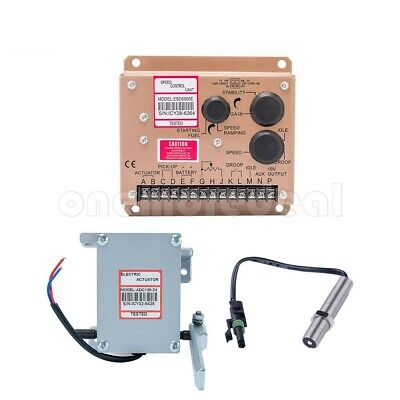 Diesel Generator Governor Adc120 Electric Actuator 24v Speed Controllersensor