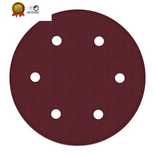 ALEKO 10SPDP3000-240G 9 Inch 6 Hole 240 Grit Sanding Discs S