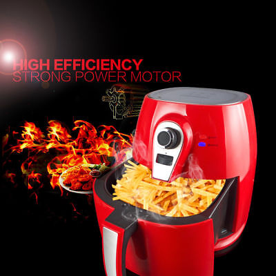 Kitchen 1400W 4.2L Digital Air Fryer Oil Less Low Fat Technology Calorie Reducer