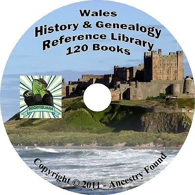 120 old books WALES History & Genealogy Family Tree