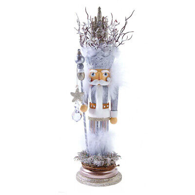 "[Kurt Adler Hollywood Nutcracker - Castle King Christmas Nutcracker 17.5"" HA0530 </Title]"
